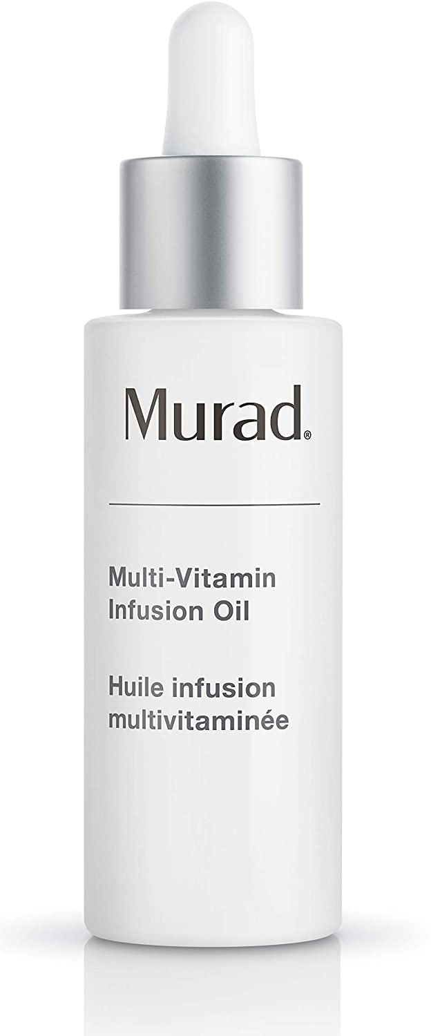 Murad Multi-Vitamin Infusion Oil - Revolutionary Facial Oil Powered by Vitamins A-F – Multi-Vitamin Oil Targets Signs of Aging and Boosts Hydration, 1.0 Fl Oz