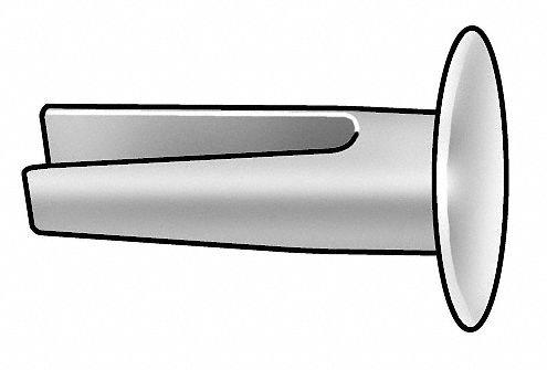 Split Rivet, 9/64, PK50