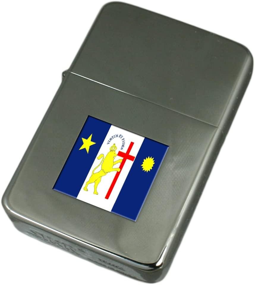 Engraved Lighter Recife City Brazil Flag