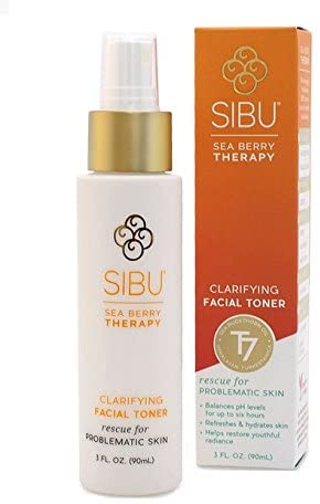 SIBU Polishing Clarifying Facial Toner, Sets Your Make-up, Protects Your Skin Against Free Radicals, Skin Moisturizer, 3 oz