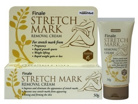 Finale Stretch Mark Removal Cream for Pregnancy, Rapid Growth Spurts, Rapid Weight Gain or Loss 50 G. Thailand Product