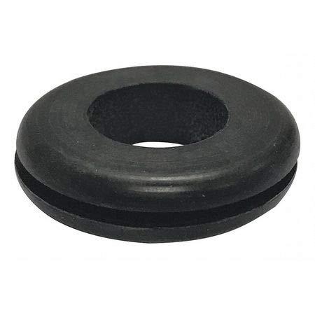 Rubber Grommet, Style 1, SBR, PK25 (5 Pieces)