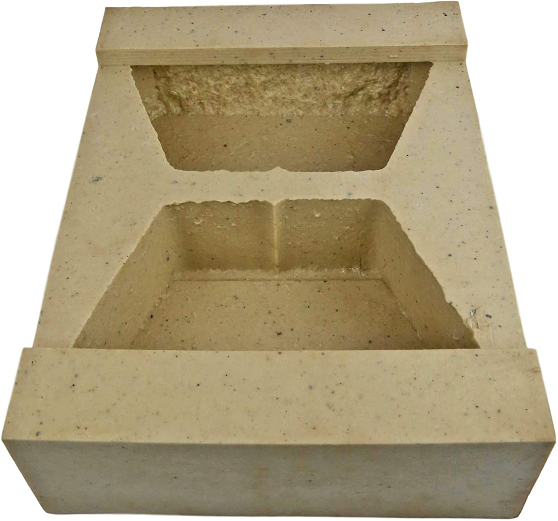 Veneer Stone Rubber Molds for Concrete, Retaining Wall Block 11.5