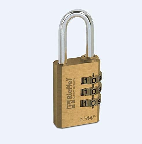 Rieffel 44/30 SB Lock Brass