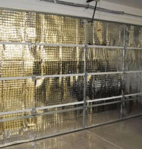 NASA Tech Reflective Foam Core Garage Door Insulation Kit 9L x 7H