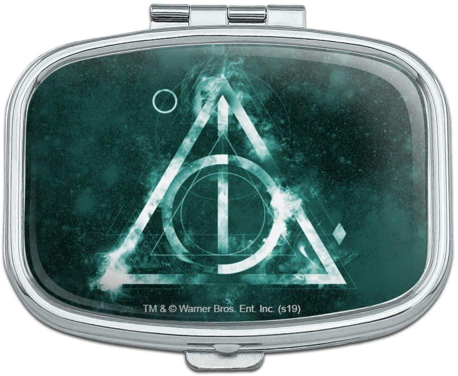 Harry Potter Deathly Hallows Logo Rectangle Pill Case Trinket Gift Box
