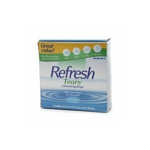Refresh Tears Lubricant Eye Drops - 4x15mL bottles [Health and Beauty]