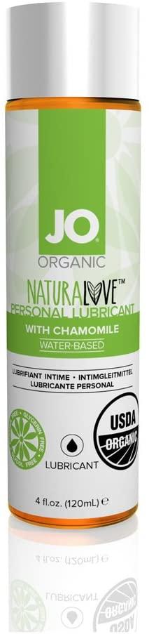 System JO Naturalove USDA Original Organic Lubricant, 4 Fluid Ounce
