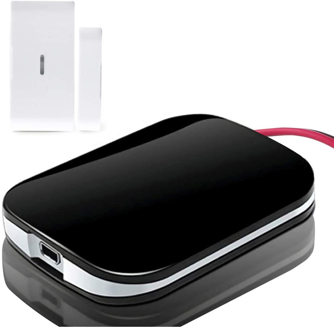 Smart Wi-Fi Garage Door Opener Remote,APP Control, Compatible with Alexa, Google Assistant, Siri, No Hub Required