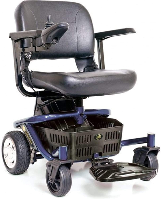 LITERIDER Envy GP162 Electric Travel Powerchair Golden Technologies Blue