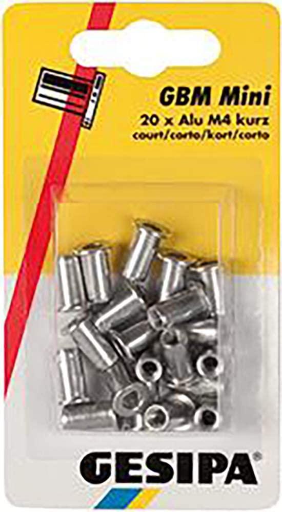 '94019Blind Rivet Nut M 4(Long), Pack of 20