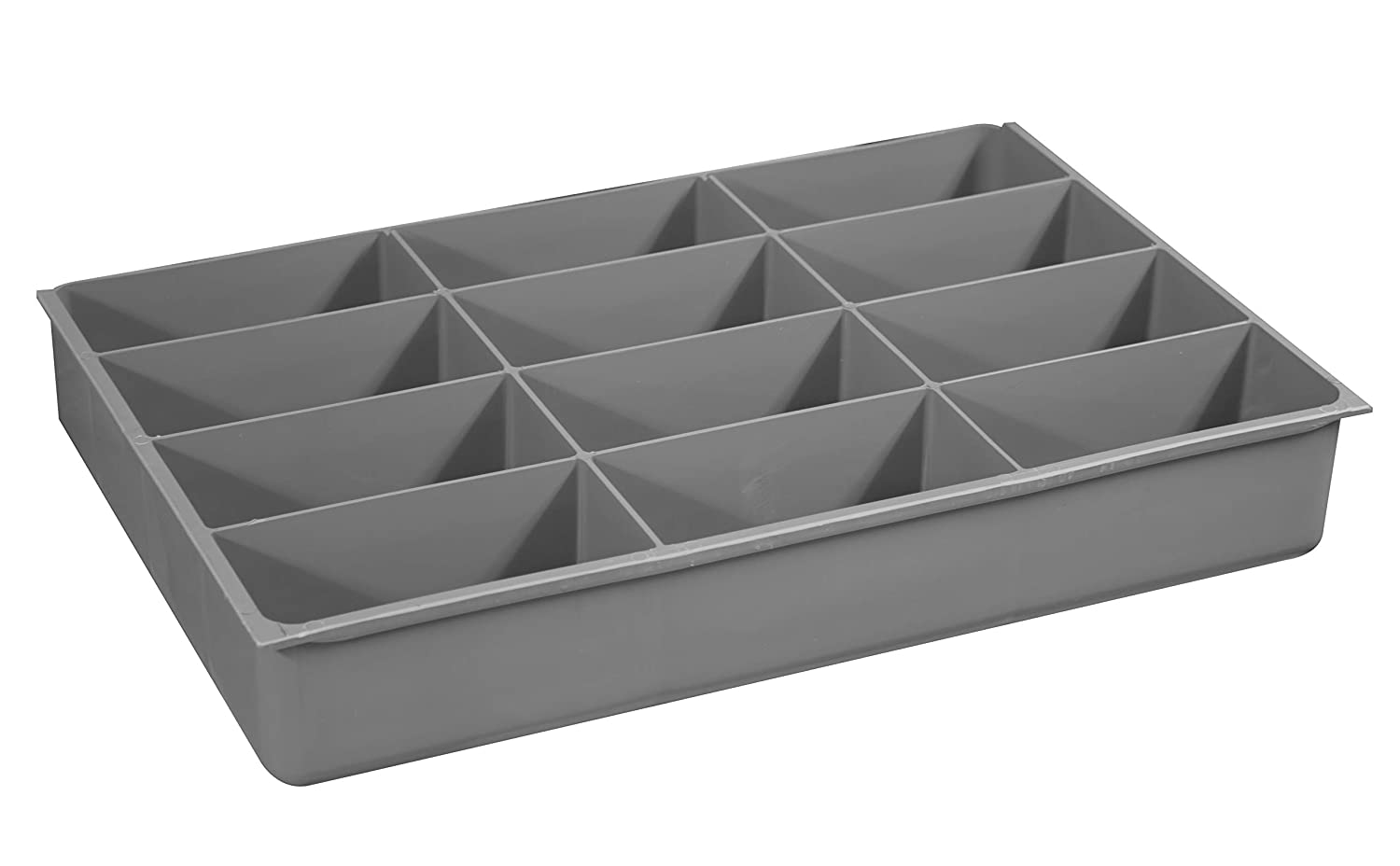 Durham 229-95-12-IND Small, 12 Compartment Insert, Gray
