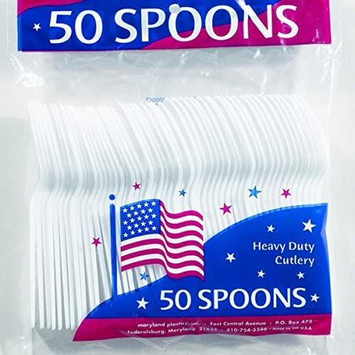 Medium Duty Plastic Spoons