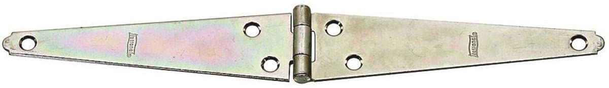 STRAP HINGES 6IN ZN PLT Pack of 10