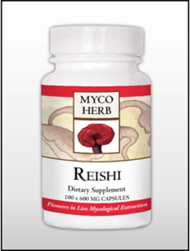 MycoHerb by Kan, Reishi 100 caps