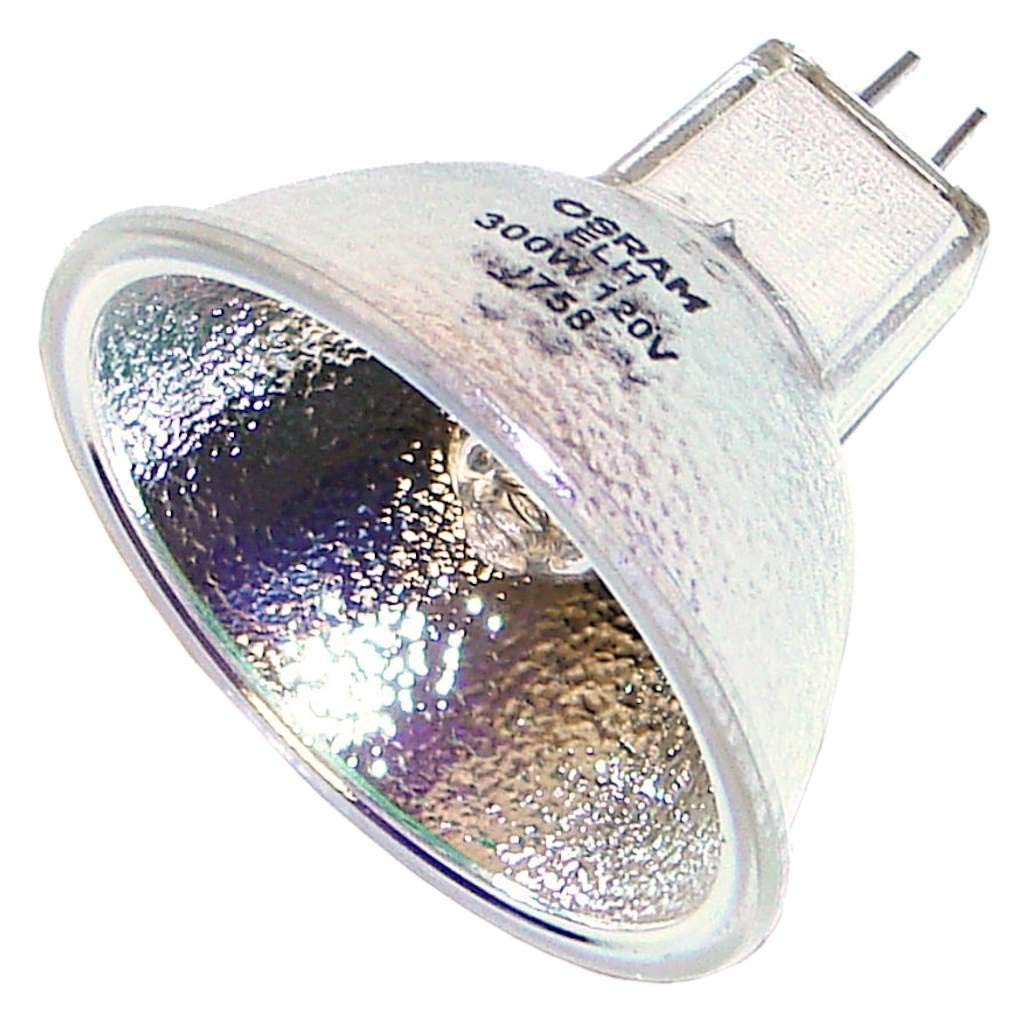 OSRAM ELH Low to Medium Voltage with Reflector, Tungsten Halogen, 300 WATT