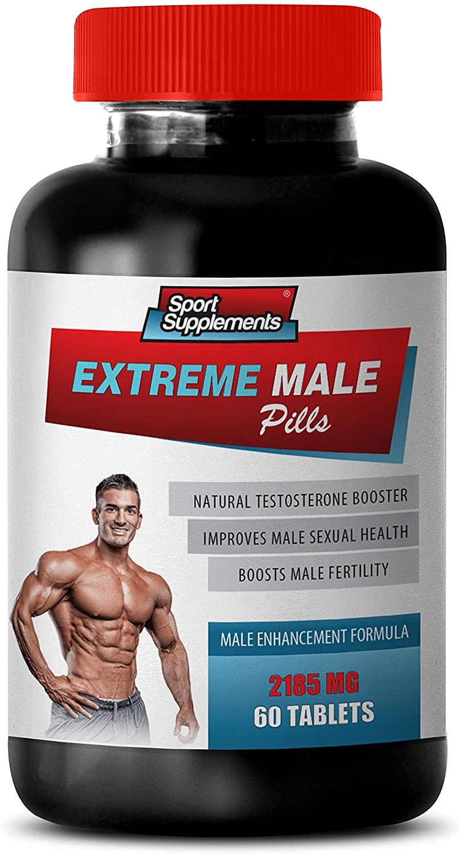 libido Increase - Extreme Male Pills - Male Enhancement Formula - tribulus Testosterone Booster - 1 Bottle 60 Tablets