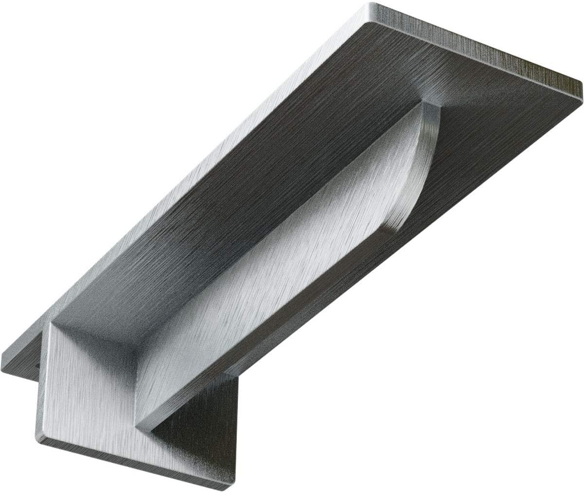 Ekena Millwork BKTM03X10X02HECRS-CASE-4 3 W x 10 D x 2 H Heaton Hidden Bracket with 6 Support Depth, Steel (4-Pack), 4 Piece