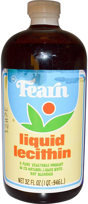 Liquid Lecithin Fearn Natural Foods 32 oz Liquid