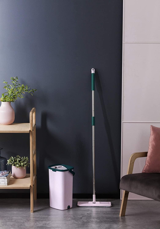 York Prestige Austauschbarer Ersatz Zum flachen Mopp Handy Replacement for Flat mop Phone, std, Grey