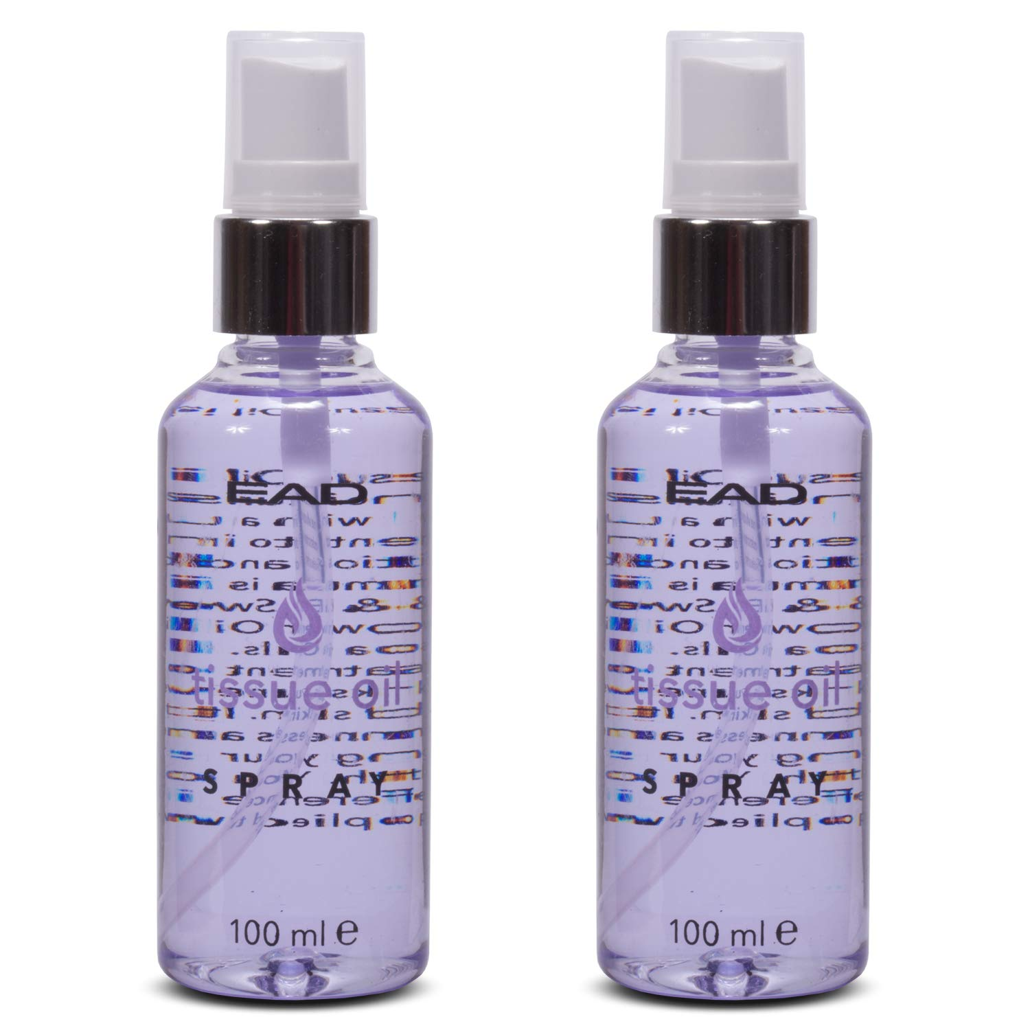 EAD Tissue Oil Spray Lavender 50ml Multiuse Skincare with Vitamin A & E for Scars, Uneven Skin Tone, and Dry, Dehydrated Skin (2 pack)
