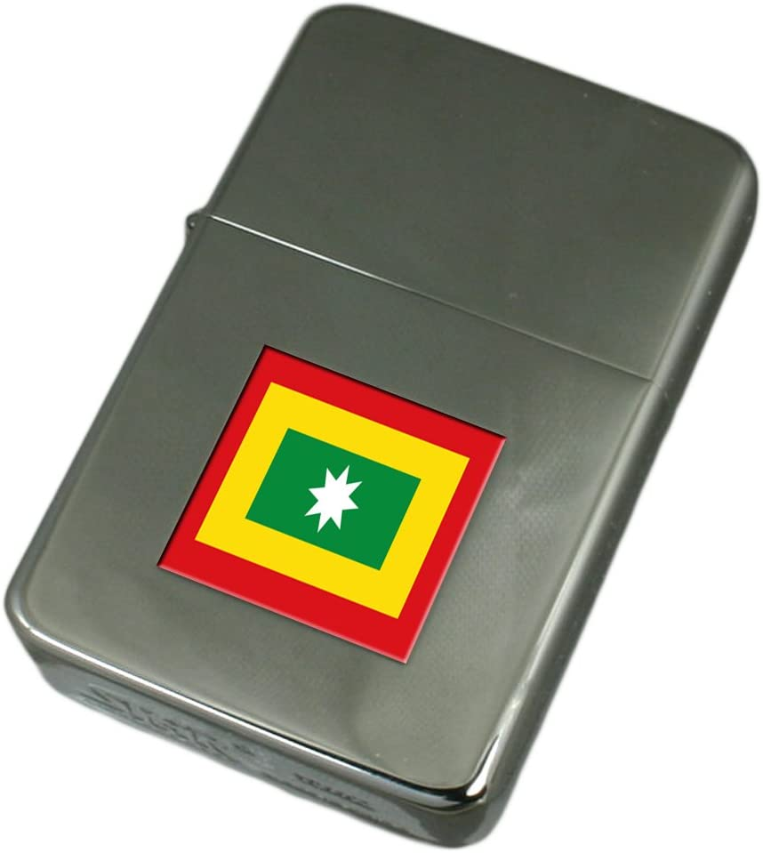 Engraved Lighter Barranquilla City Colombia Flag