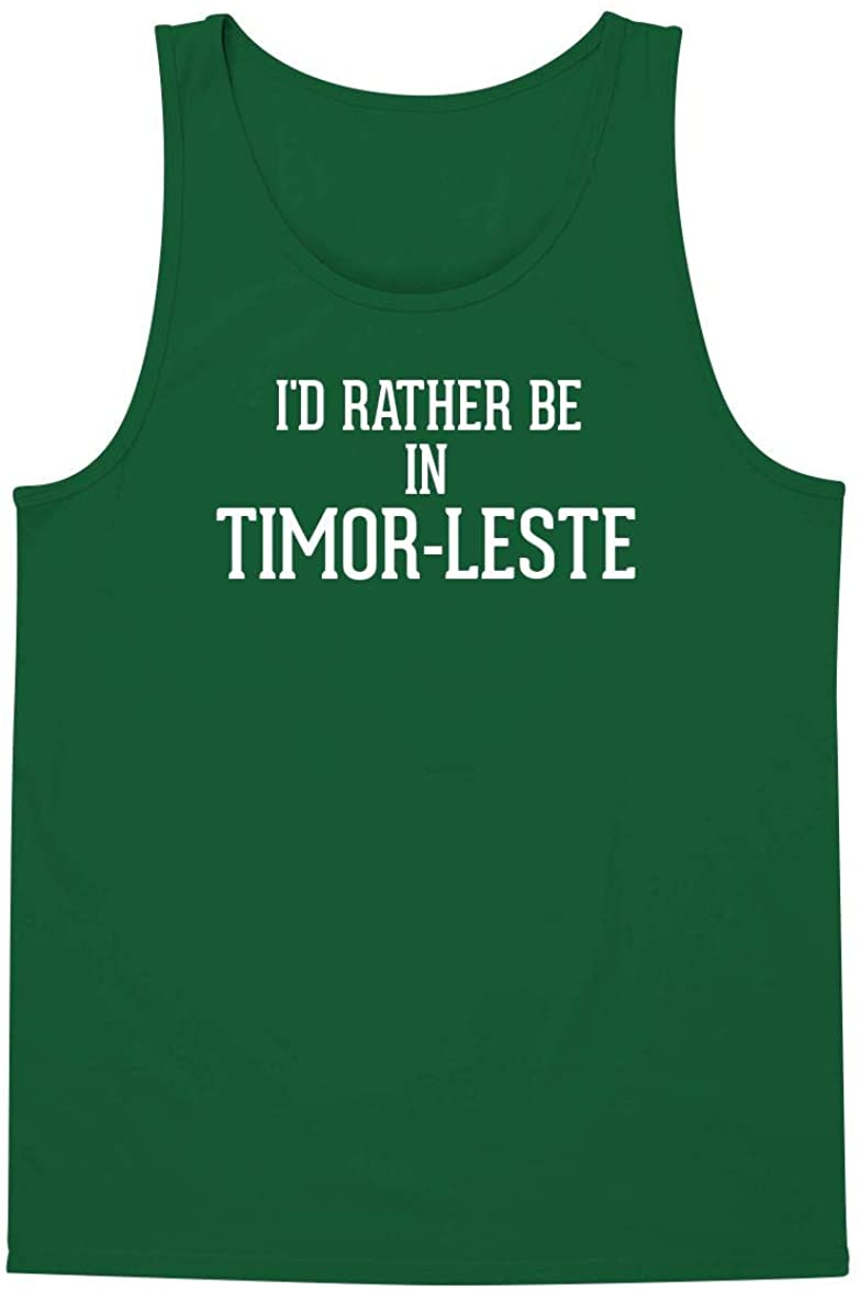 I'd Rather Be In TIMOR-LESTE - A Soft & Comfortable Men's Tank Top