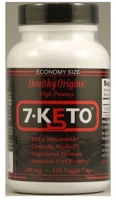 Healthy Origins 7.Keto Dhea Metabolife 120 Vcap