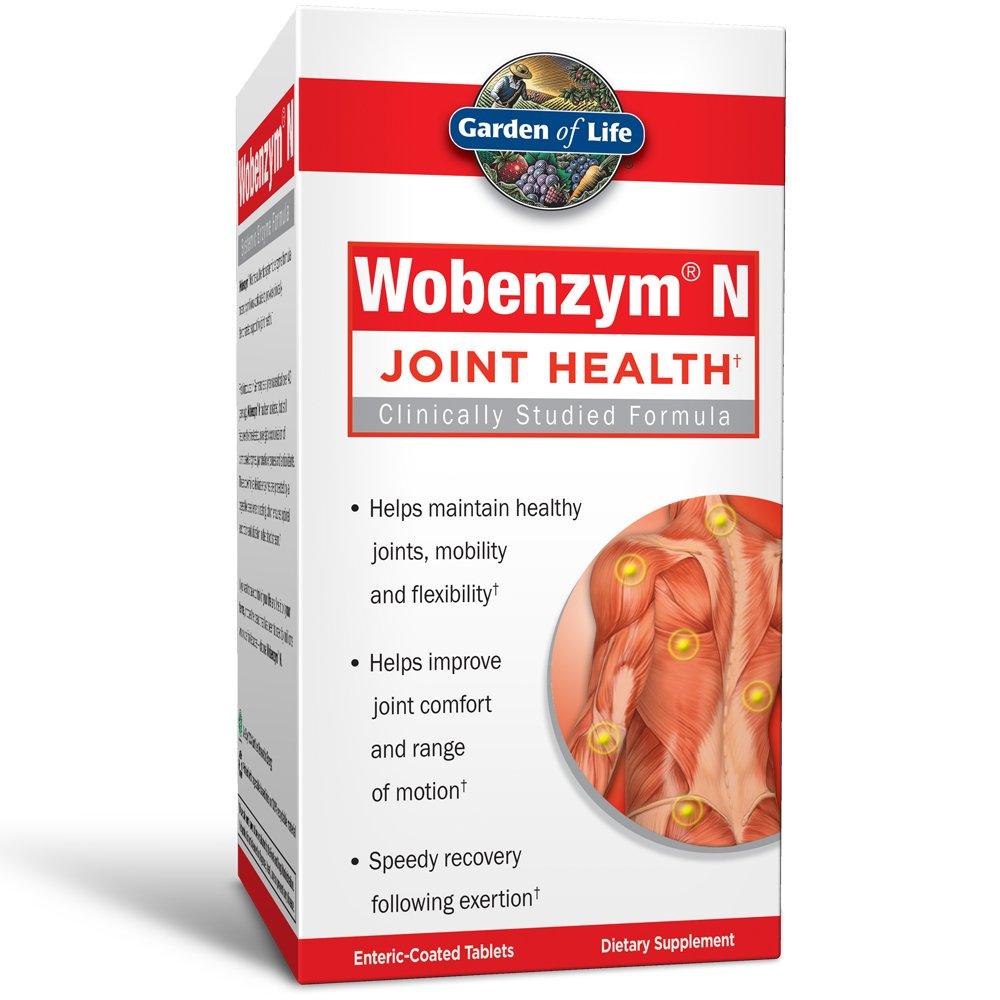Garden of Life Wobenzym N Tablets, 800 Count