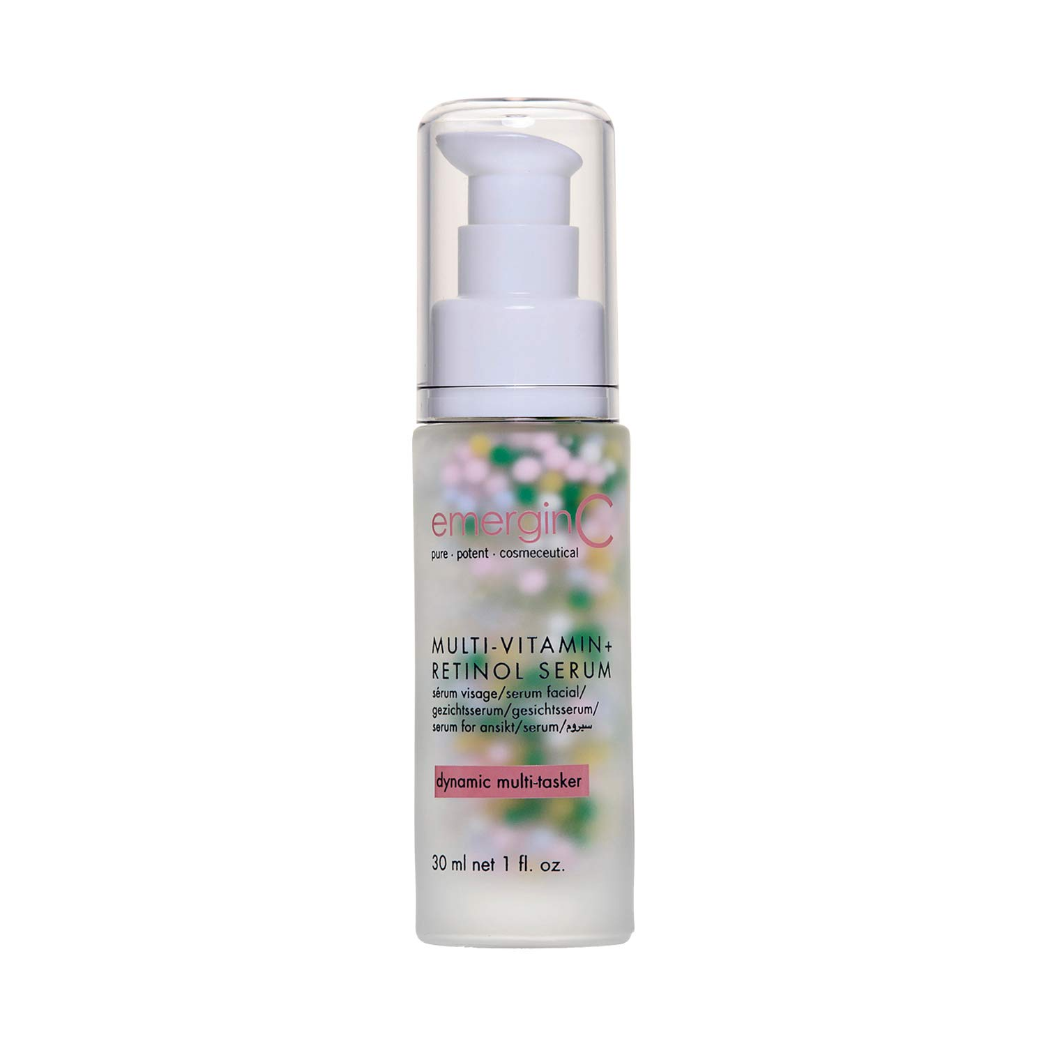 emerginC MultiVitamin + Retinol Serum - Micro-Encapsulated Spheres + Vitamin C to Help Combat Visible Signs of Aging, Sensitive Skin + Minor Redness (1.0 Ounces, 30 Milliliters)
