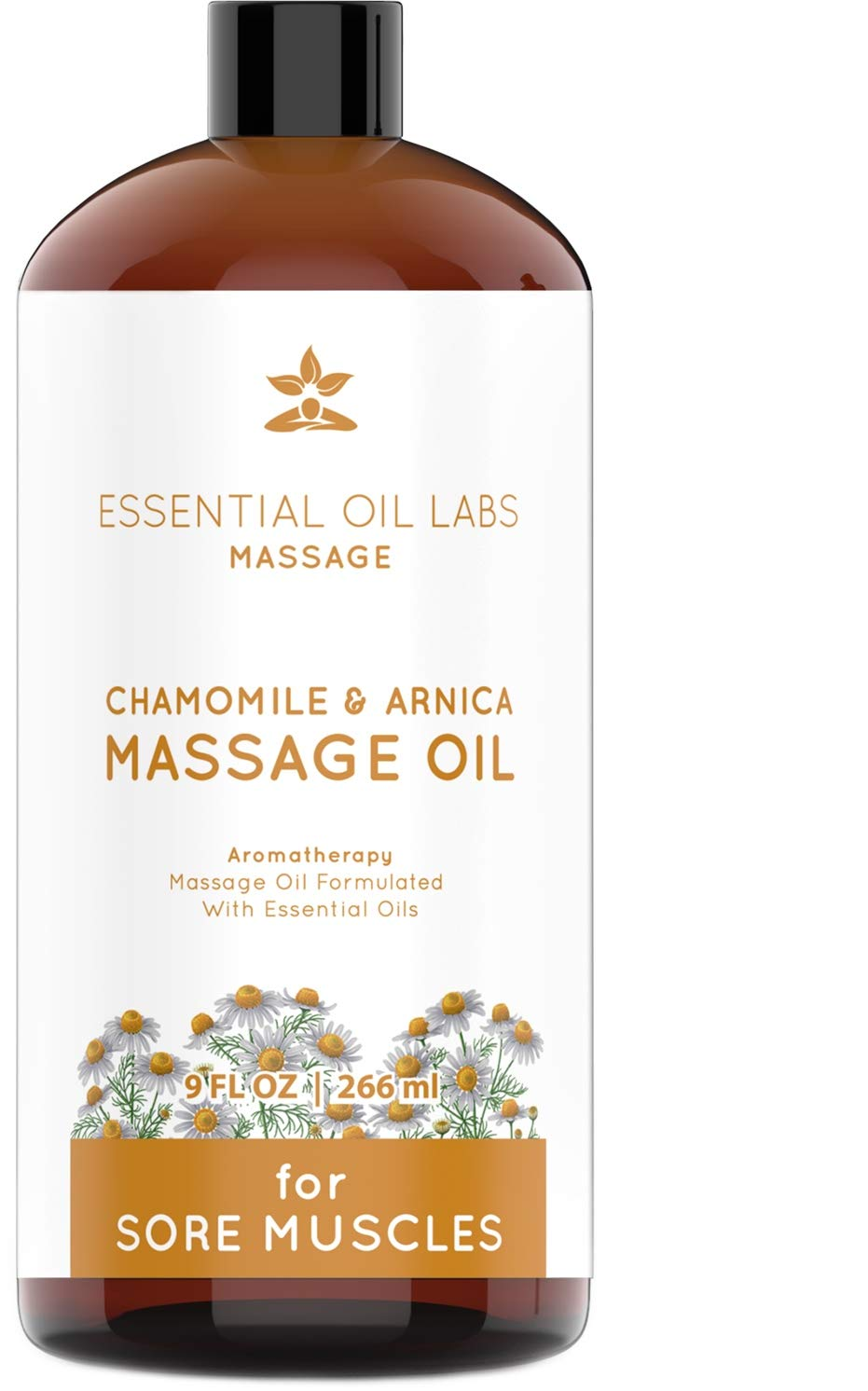 Chamomile + Arnica Massage Oil - Excellent for Sore Muscles