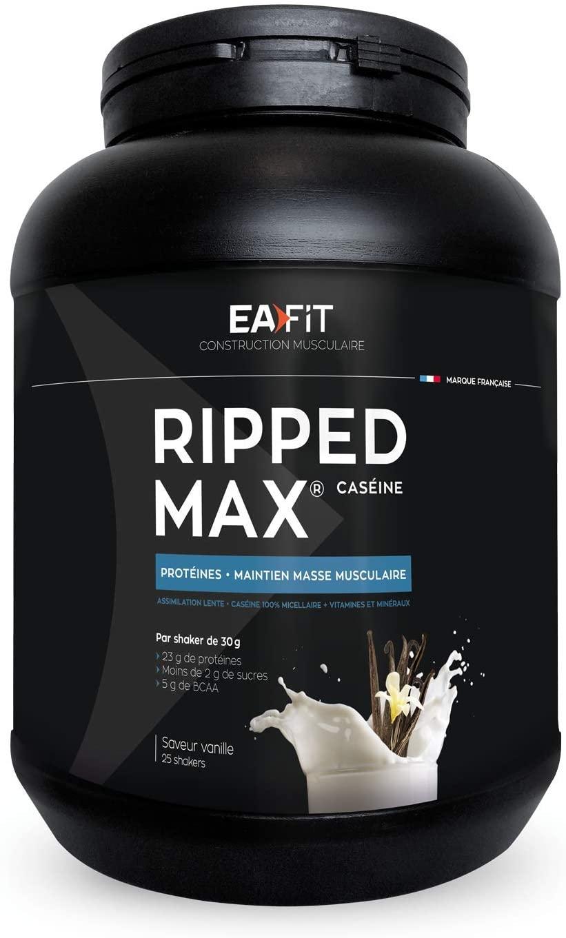 Eafit Ripped Max Caseine 750G - Flavour : Vanilla