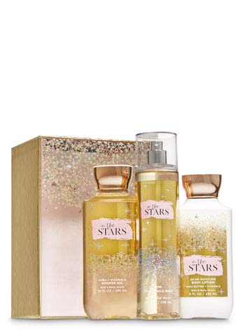 Bath and Body Work IN THE STARS Glamorous Gift Box Set - Body lotion - Fine Fragrance Mist and Shower Gel