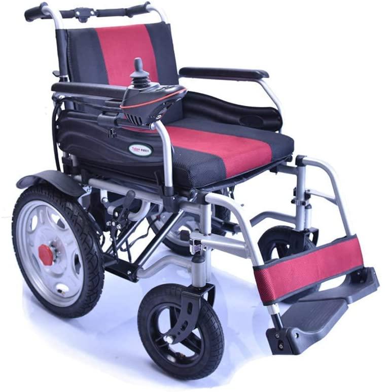 C & S CS Wheelchair, Four-Wheel Electric Wheelchair, Disabled Elderly Folding Lightweight Smart Scooter hgfjghfdgfd