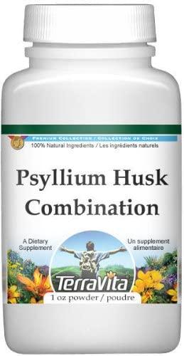 Psyllium Husk Combination Powder - Psyllium, Hibiscus and Licorice (1 oz, ZIN: 512571)