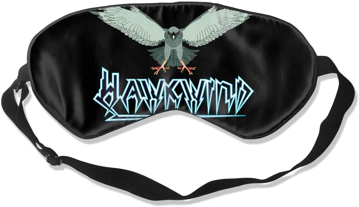 Ktdbthut Hawkwind Fashion Sleep Eye Mask Soft Comfortable Unisex with Eye Mask Adjustable Headband
