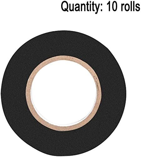 NIQA PVC High Viscosity Retardant Adhesive Gaffer Tape, Electrical Insulating Tape Electrical Accessories Professional 0629 (Color : A)
