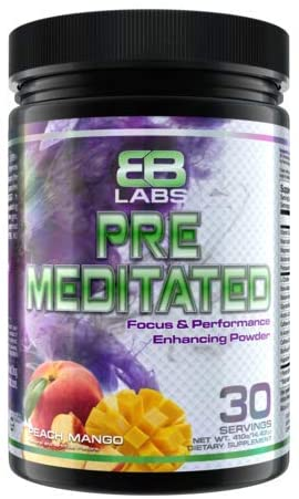 Evil's Bane Labs Pre Meditated Pre Workout (Peach Mango)