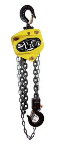 All Material Handling CB030-10-08 Badger Manual Chain Hoist, 3 Ton, 10' Lift, 08' Drop