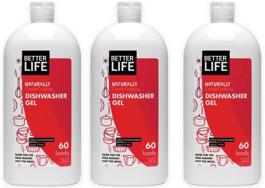 Better Life Dishwasher Gel, 30 Ounces