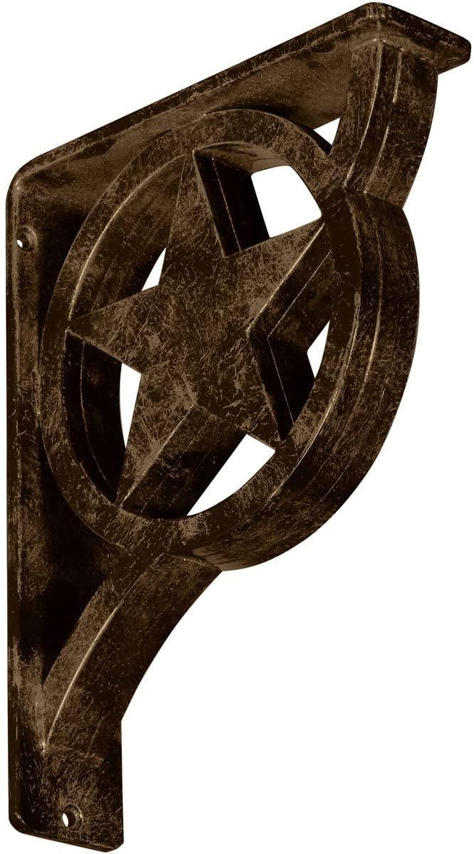 Ekena Millwork BKTM02X07X10TAUABS Metal Bracket, 2
