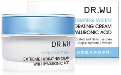 DR. WU Extreme Hydrating Cream 30ml -This Special Formula Proves to be Effective in Minimizing Sings of Aging Such as Wrinkles, fine Lines, Spots and Uneven Skin Tone.