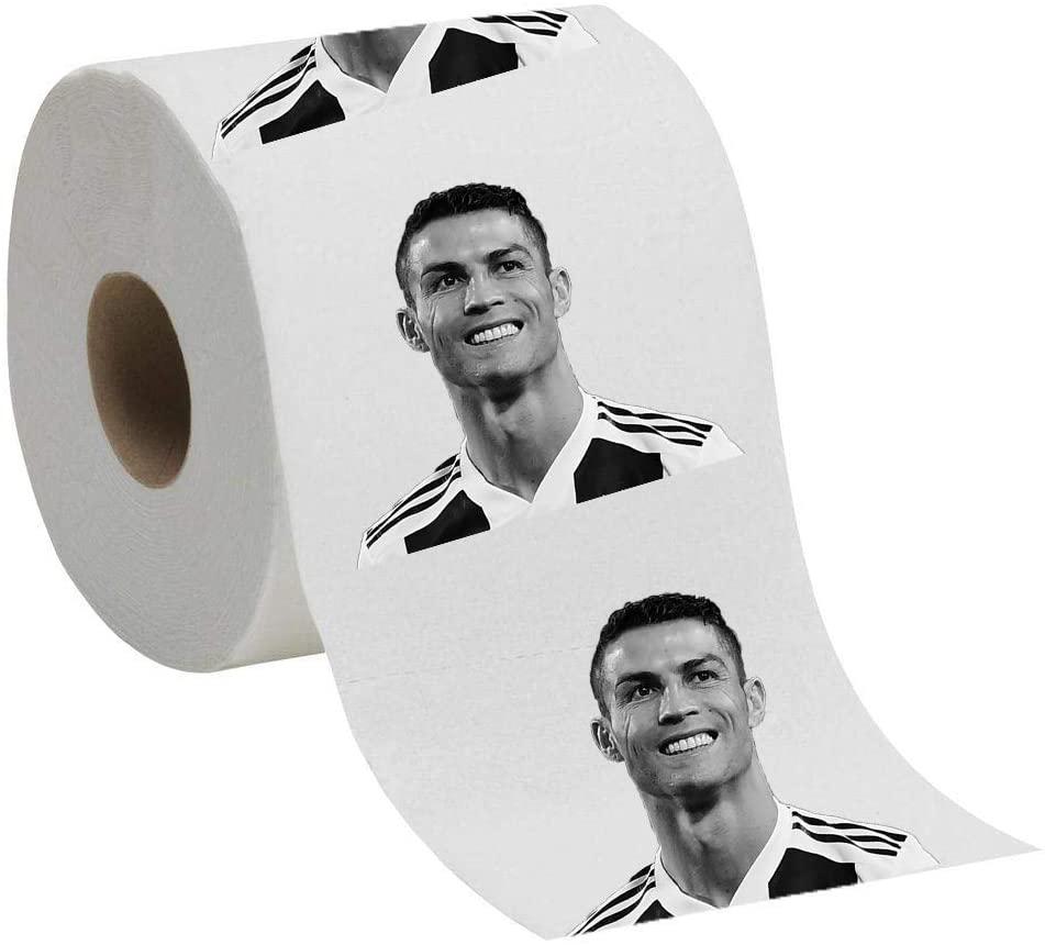 Cristiano Funny Novelty Toilet Paper Ronaldo