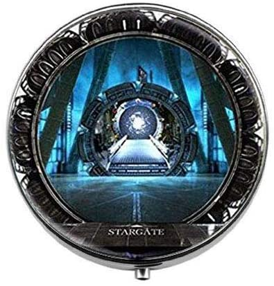 Vintage Stargate - Stargate Pill Box - Stargate Pill Box - Glass Candy Box