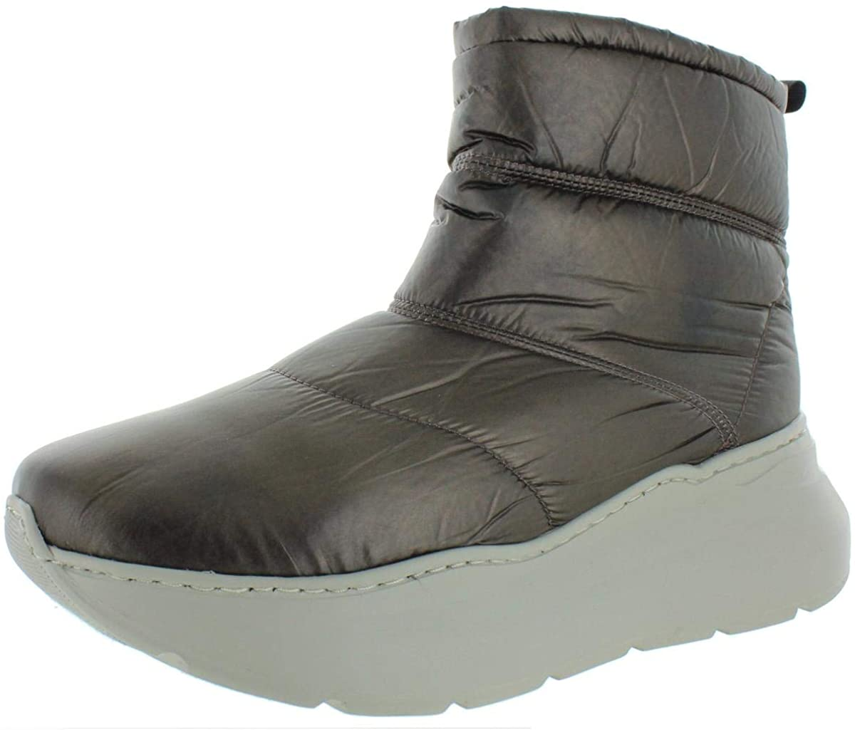 Free People Womens Snow to Surf Leather Quilted Winter Boots