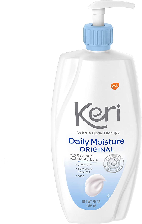 Keri Daily Moisture Original, 15 Ounce (Pack of 6)