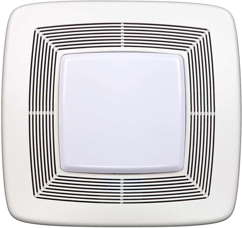 Broan-NuTone QTXE110FLT Quiet Ventilation Fan Combo for Bathroom and Home, ENERGY STAR Certified, 36 Fluorescent Light, 4-Watt Nightlight, 110 CFM, White
