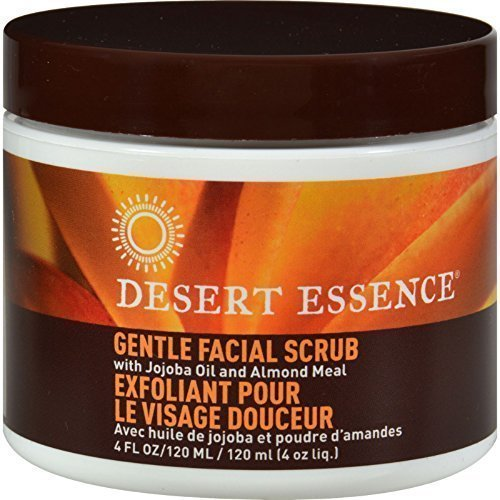 Desert Essence Face Scrub Gentle Stimul 4 Oz