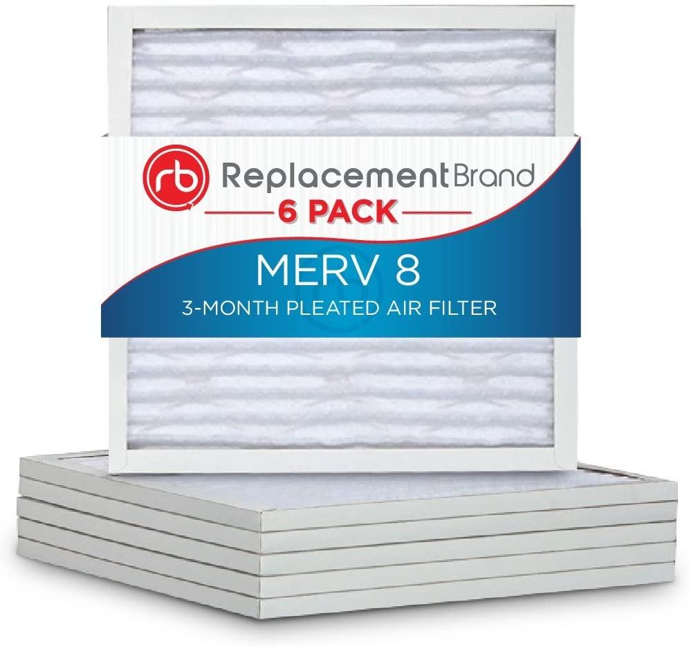 ReplacementBrand RB-P85S-611014 MERV 8 Air/Furnace Filter, 10
