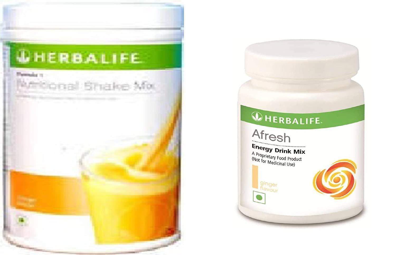 Herbalife Formula 1 Mango+ Afresh(Ginger)